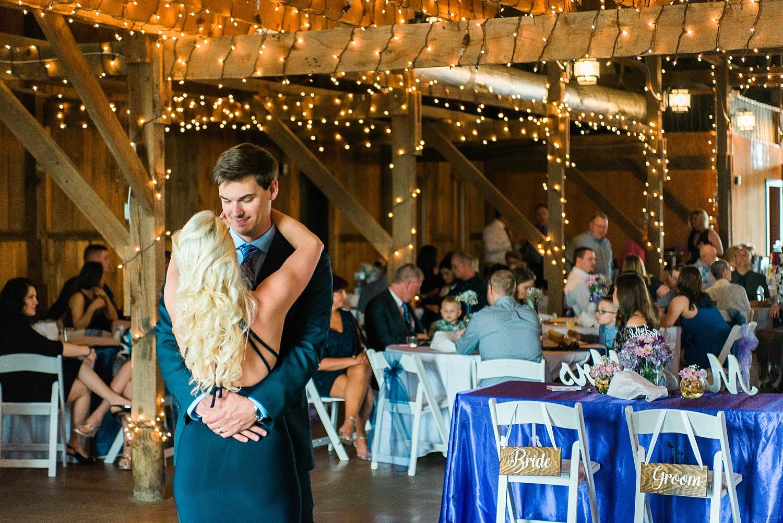 Talon Winery reception barn