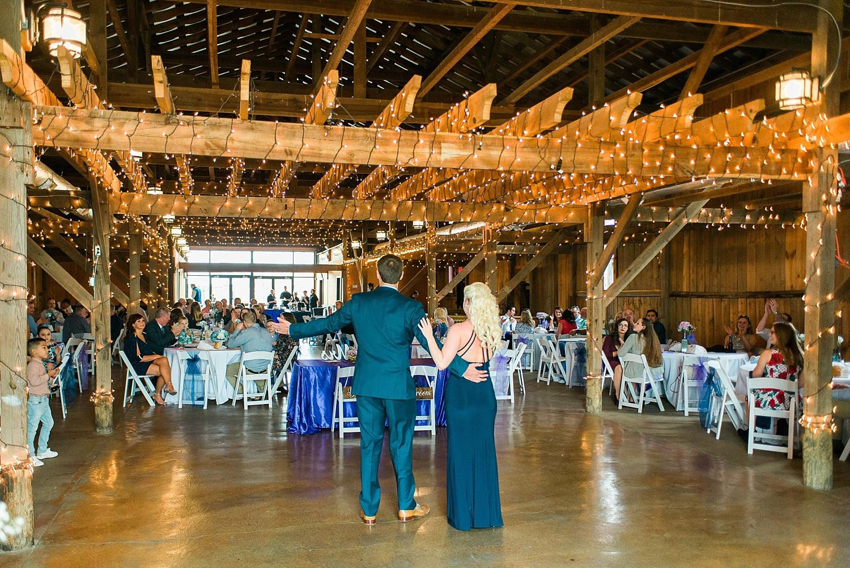 Talon Winery Barn wedding