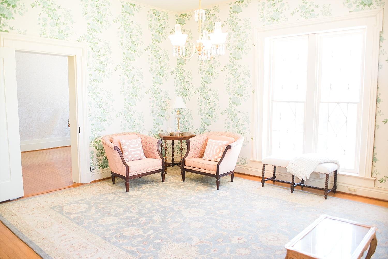 Warrenwood Manor bridal suite
