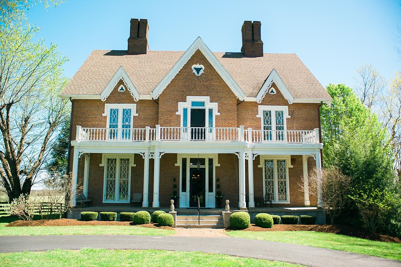 Warrenwood Manor, Danville, KY wedding venue