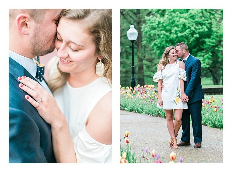 classic engagement photos