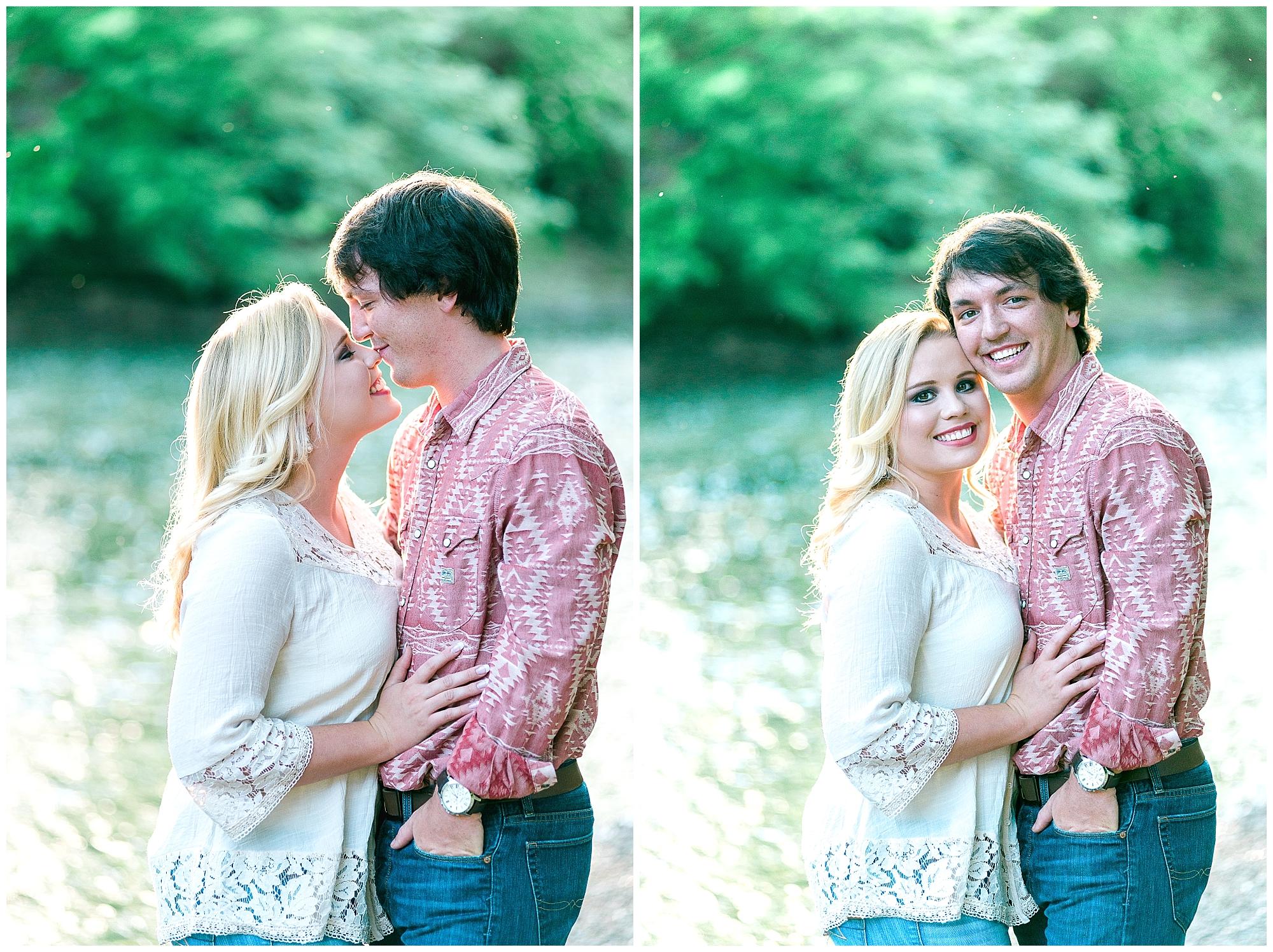 romantic Kentucky engagement photos