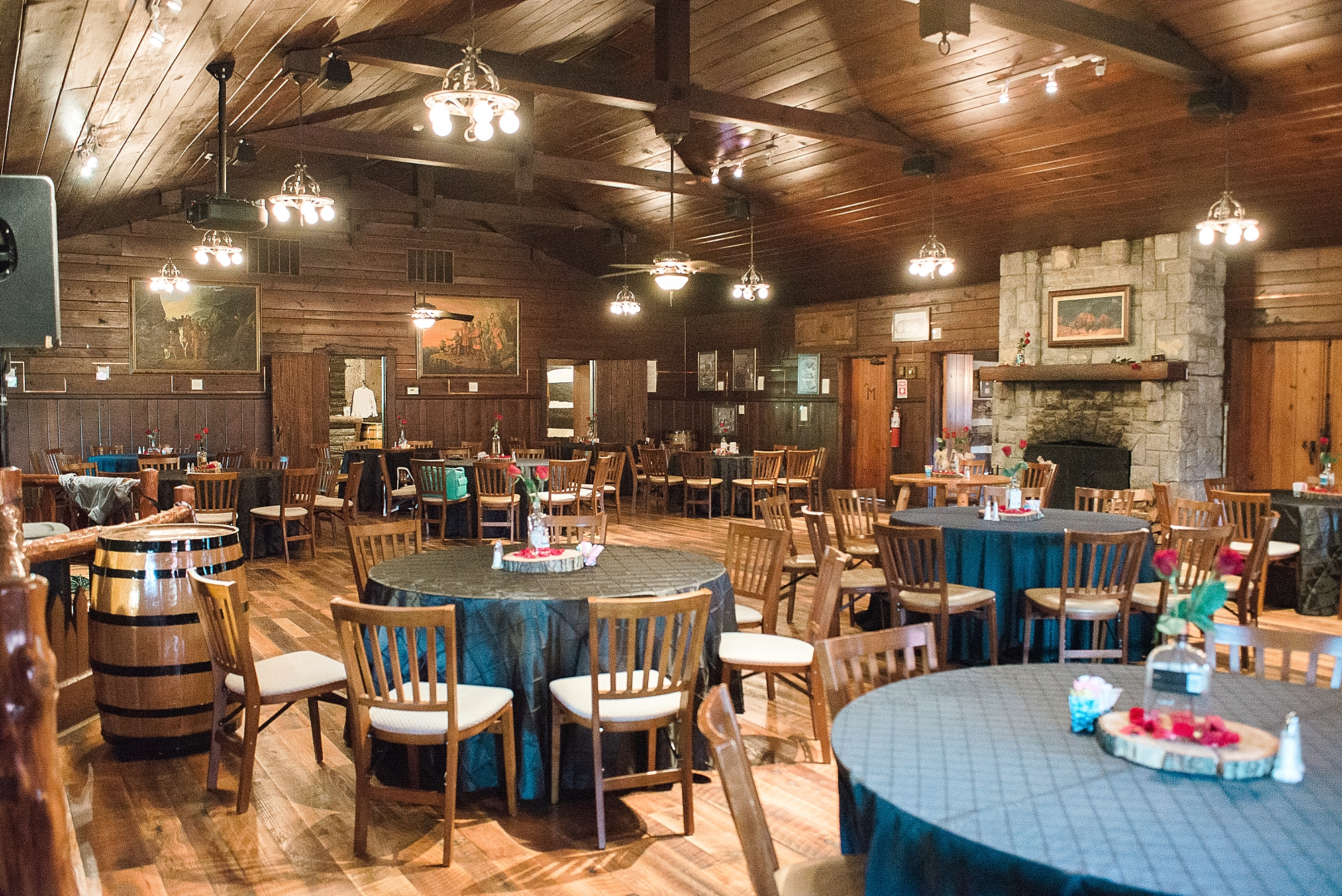 buffalo trace wedding clubhouse