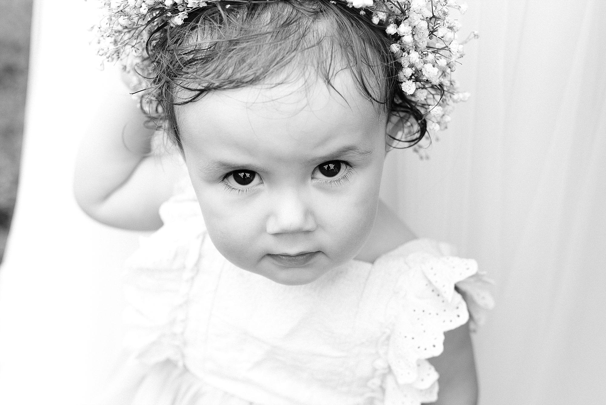 Such a precious little girl!
