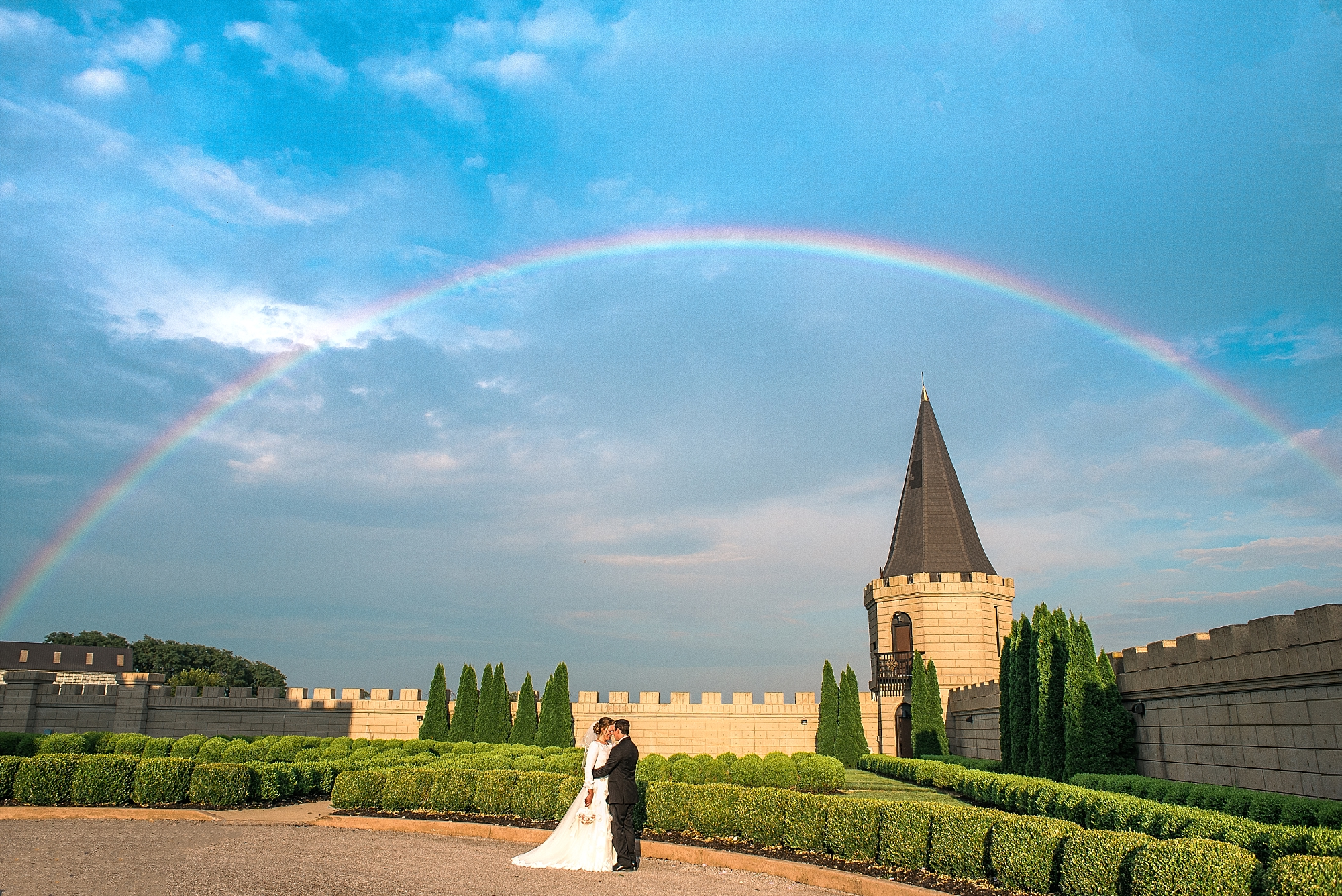 castle-post-rainbow-wedding