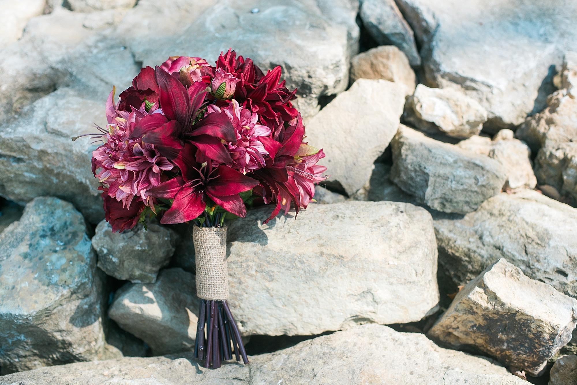 burgundy-red-bouquet