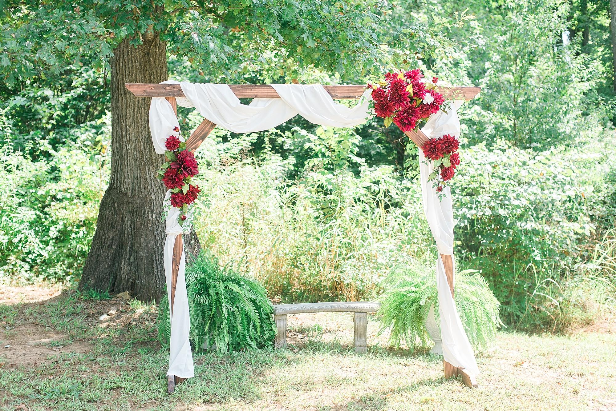 red-white-arbor-wedding