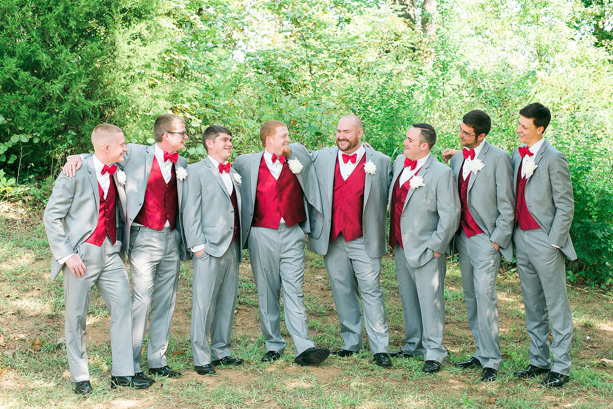 groom-groomsmen-gray-red