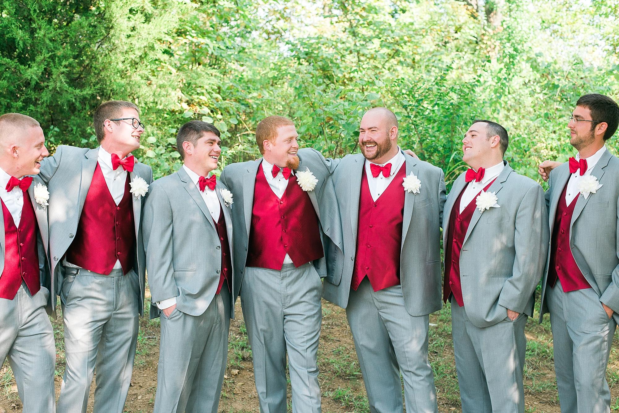 red-gray-suits-groomsmen