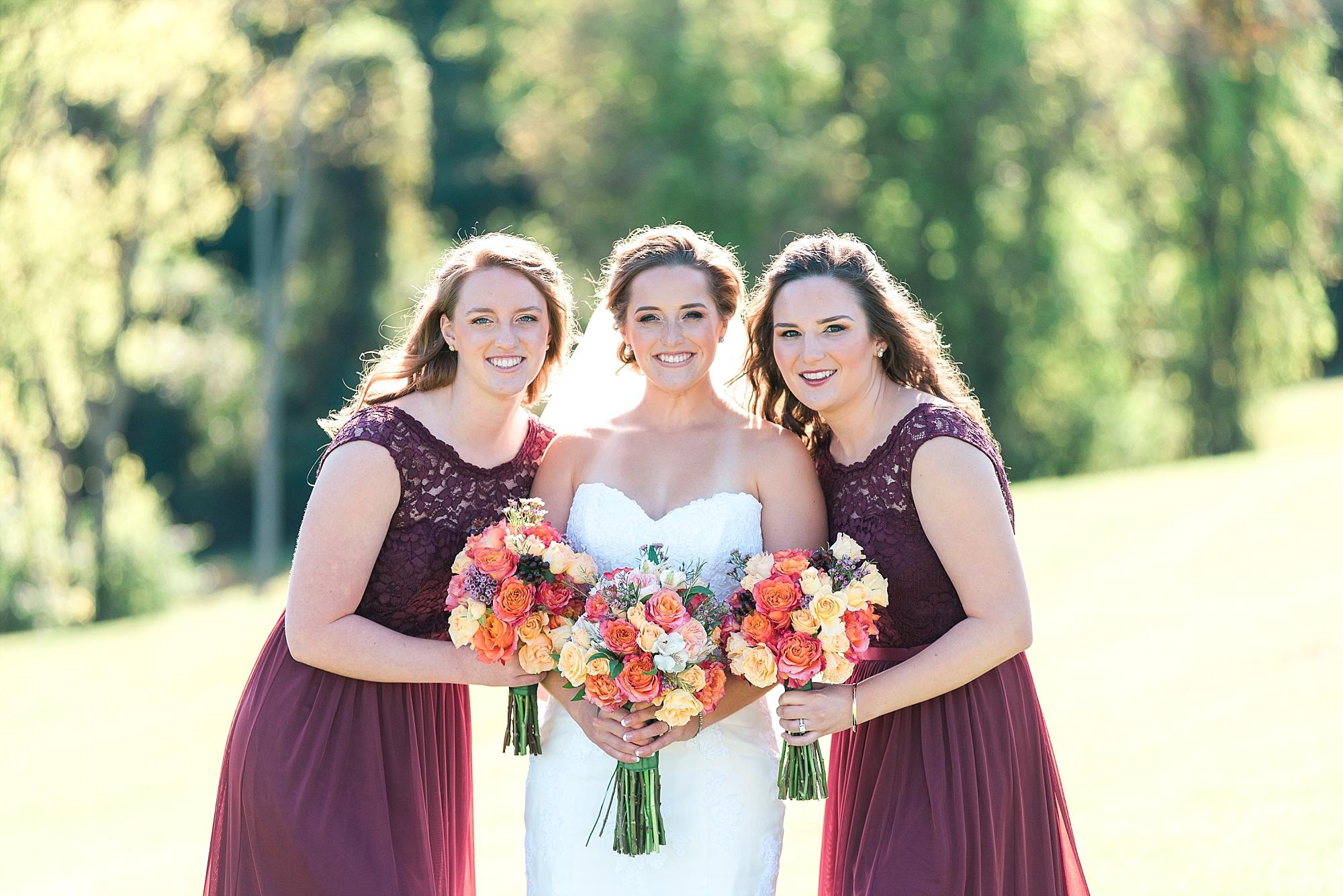 burgundy-bridesmaids