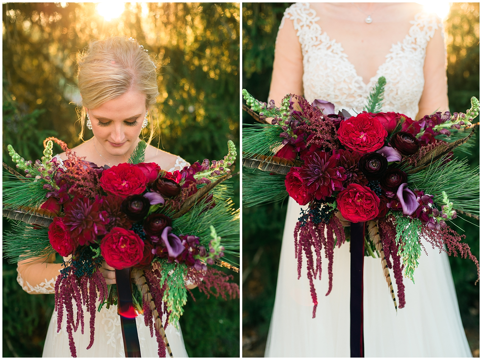 Brooke, your bouquet and arrangements were so luxurious! You're amazing!