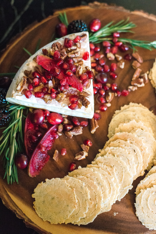 pomegranate-honey-brie