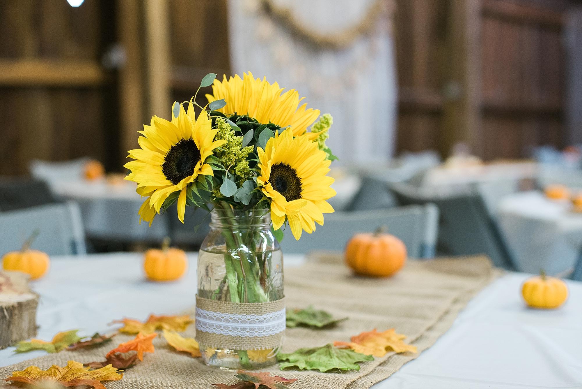 sunflower-centerpieces