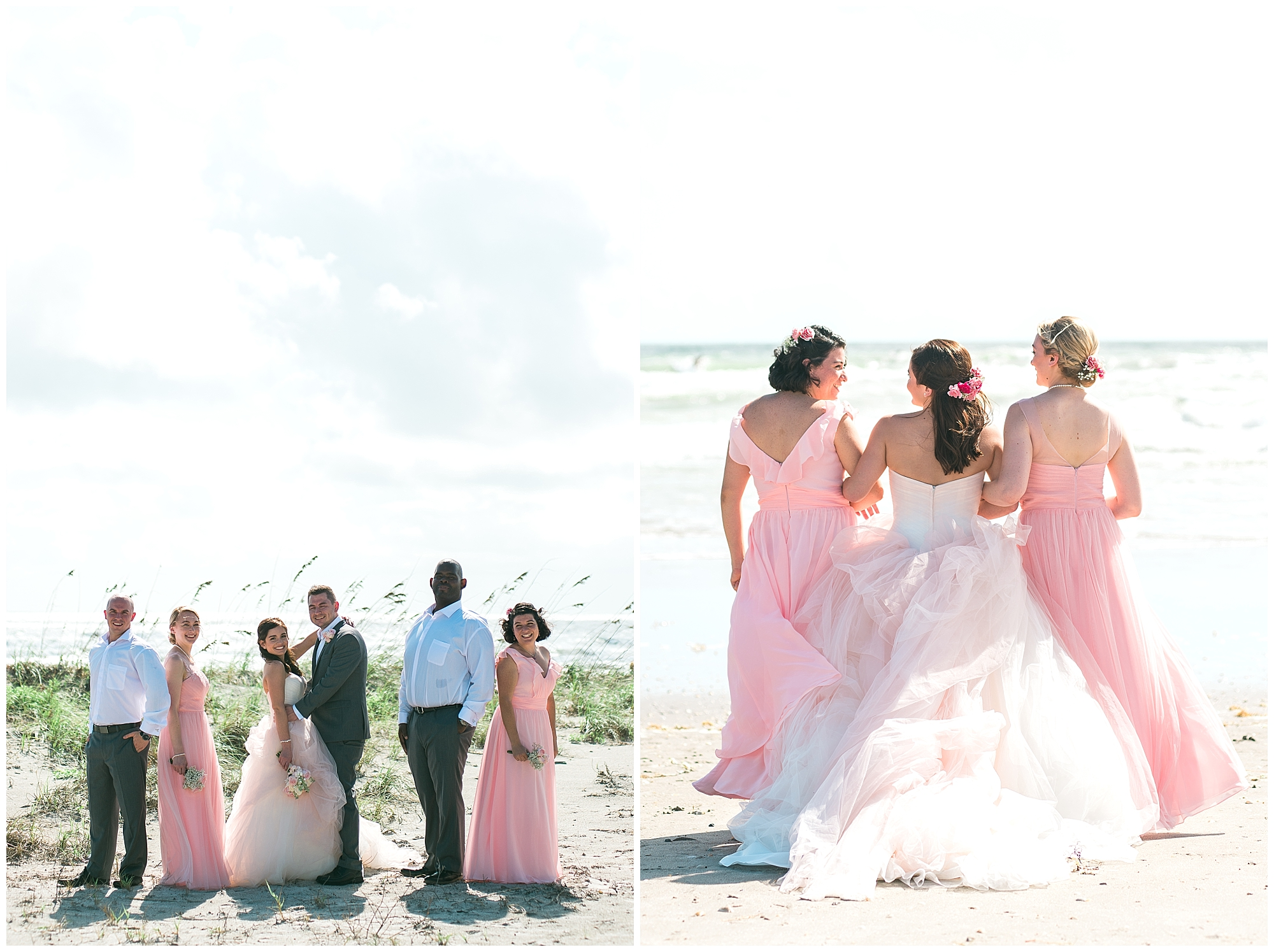 beach-bridal-party
