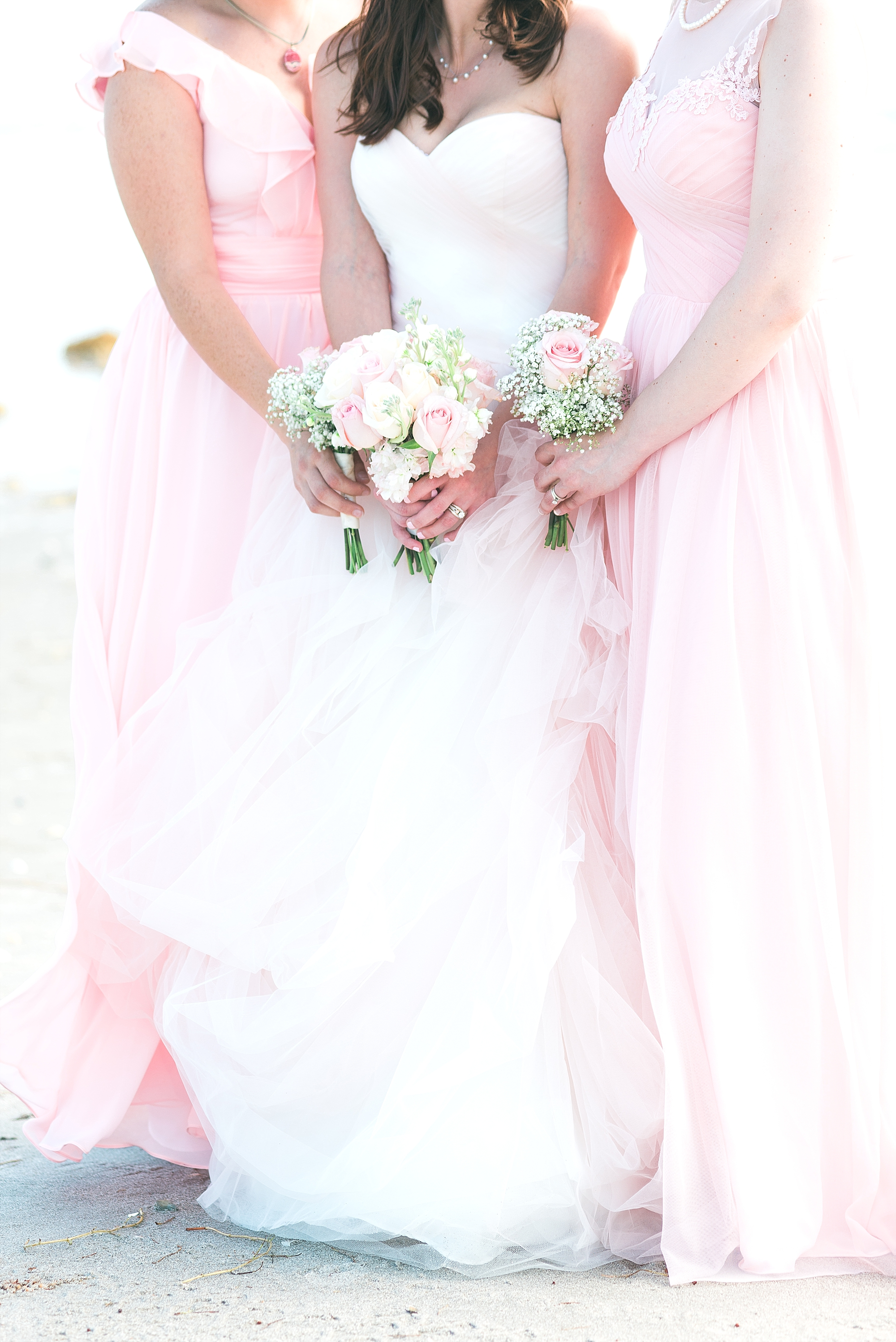 pink-bridemaids-dresses
