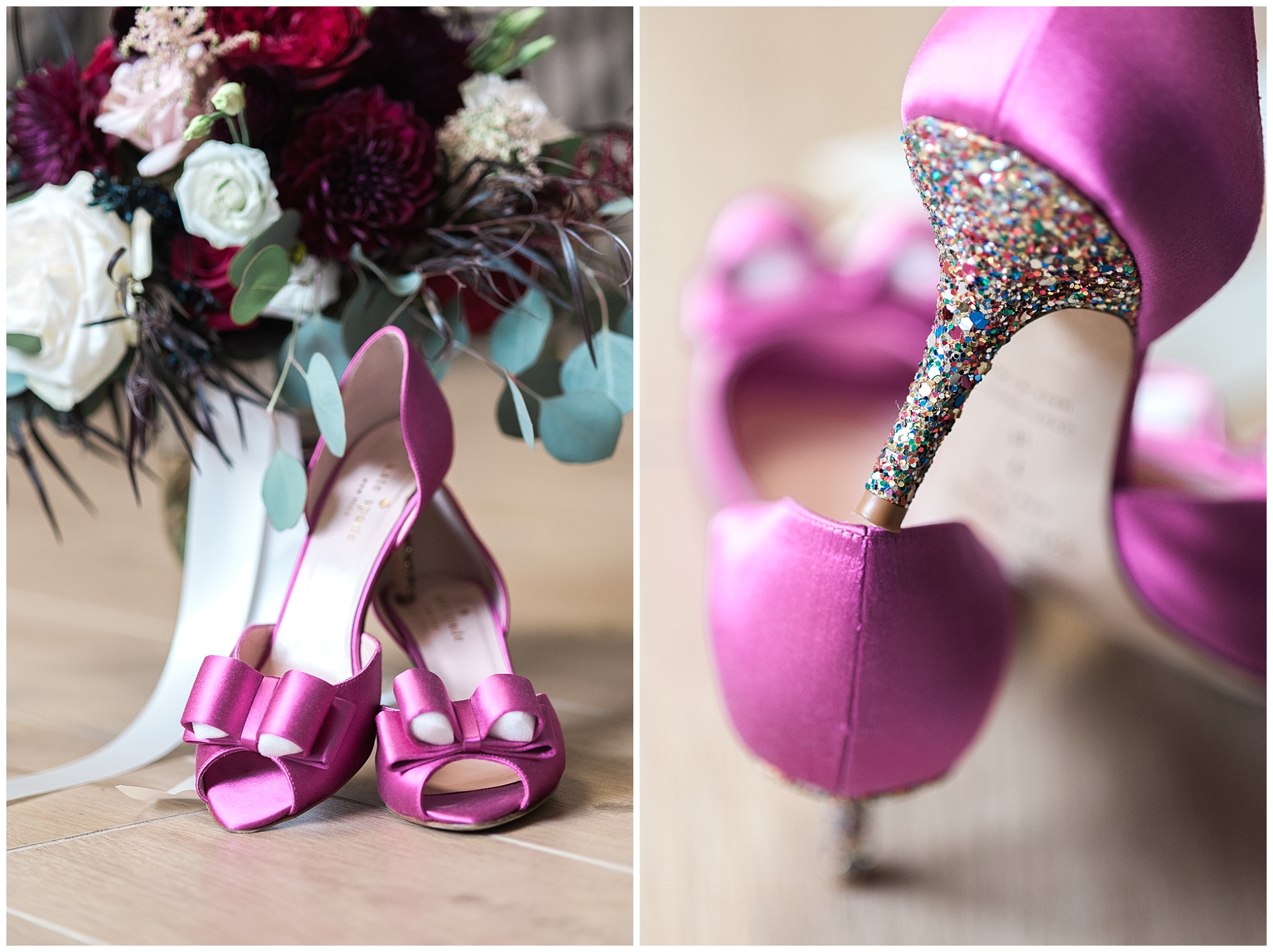 Kate Spade wedding shoes for the win!