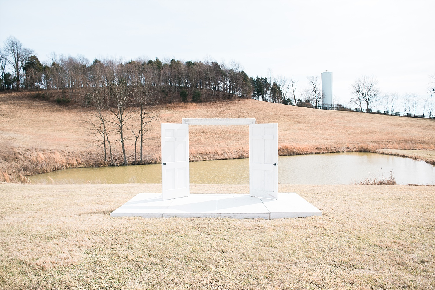 This is one possible ceremony site that is so pretty! We can't wait to see it in the spring!