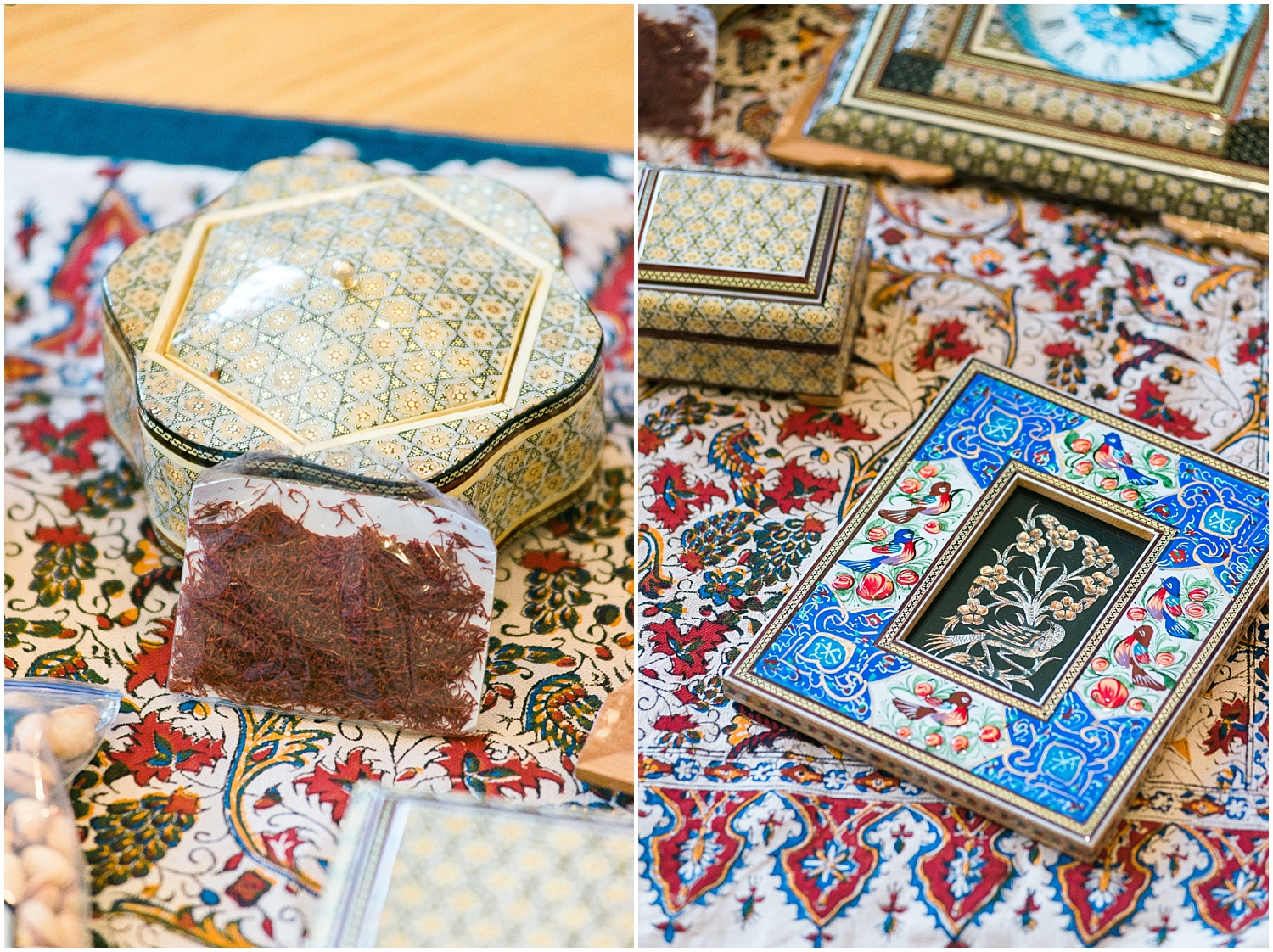 Aylua's father brought her many wonderful gifts from his home country, Iran.