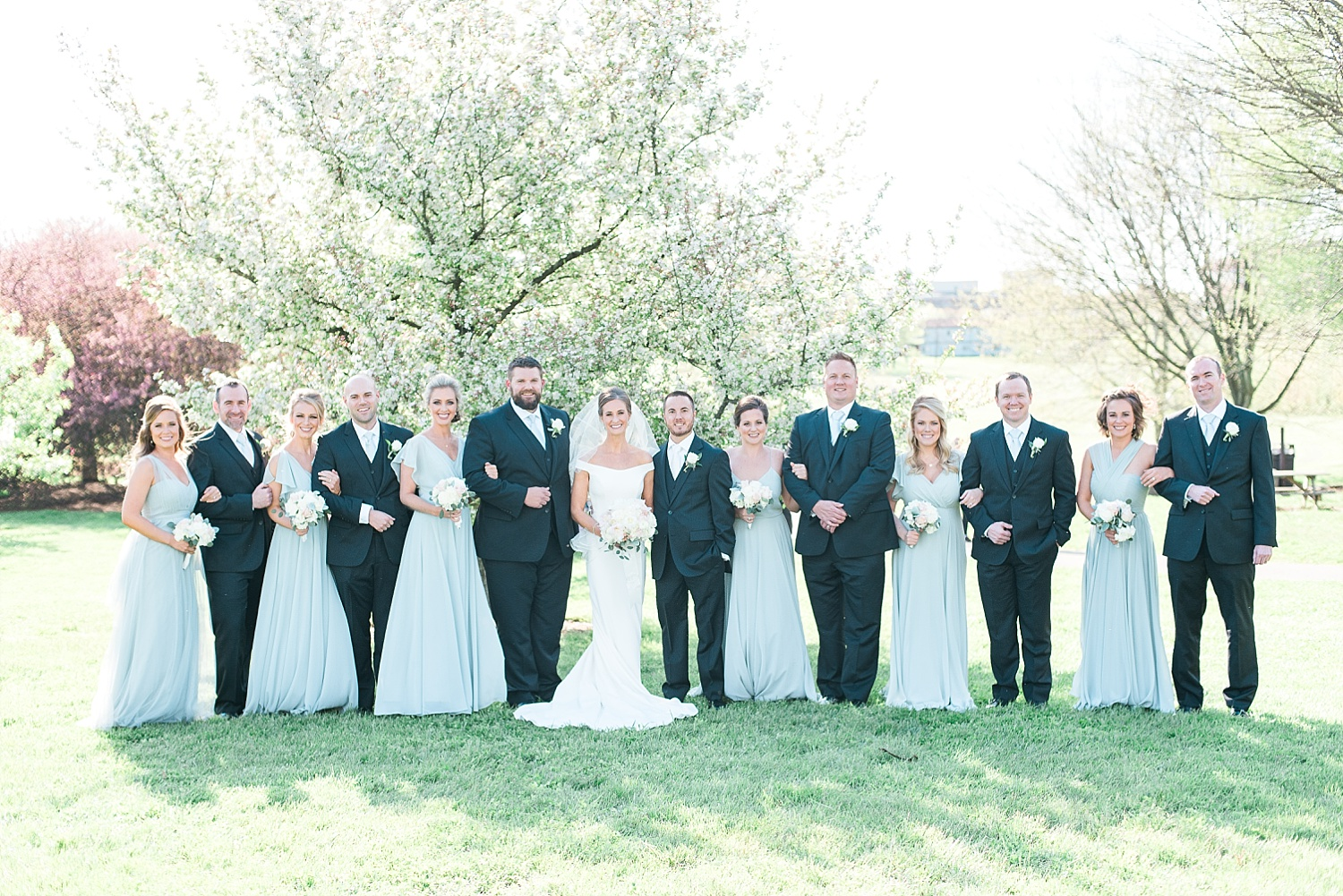 We went to the Arboretum for the wedding party & bride/groom portraits!  So pretty!