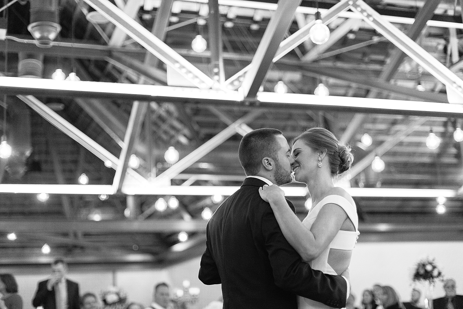 Such a sweet first dance as husband and wife!