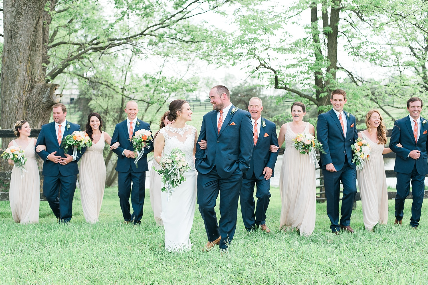 large-bridal-party