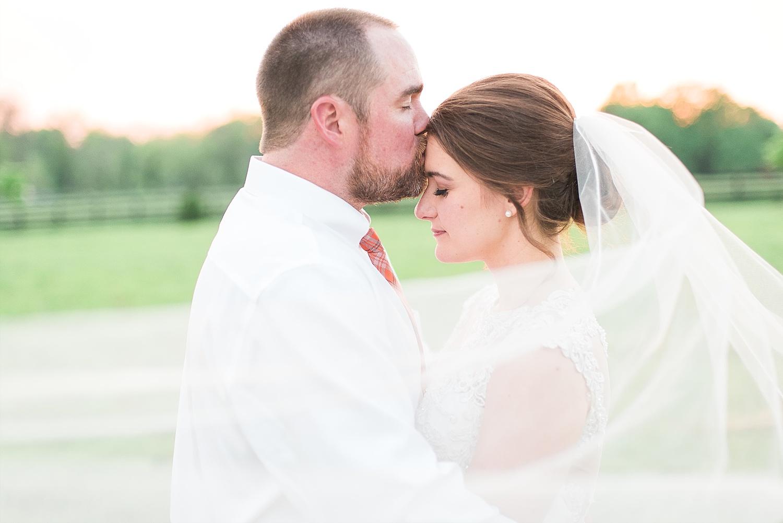 Jordan's veil was perfect!