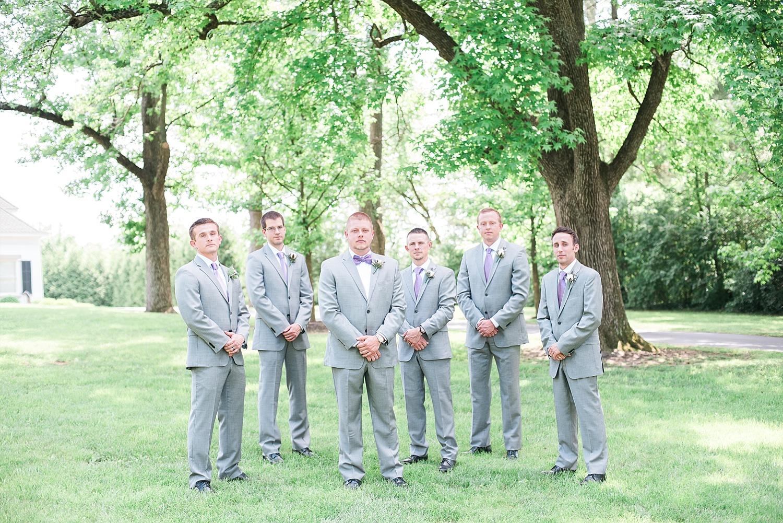 gray-groomsmen-suits-purple