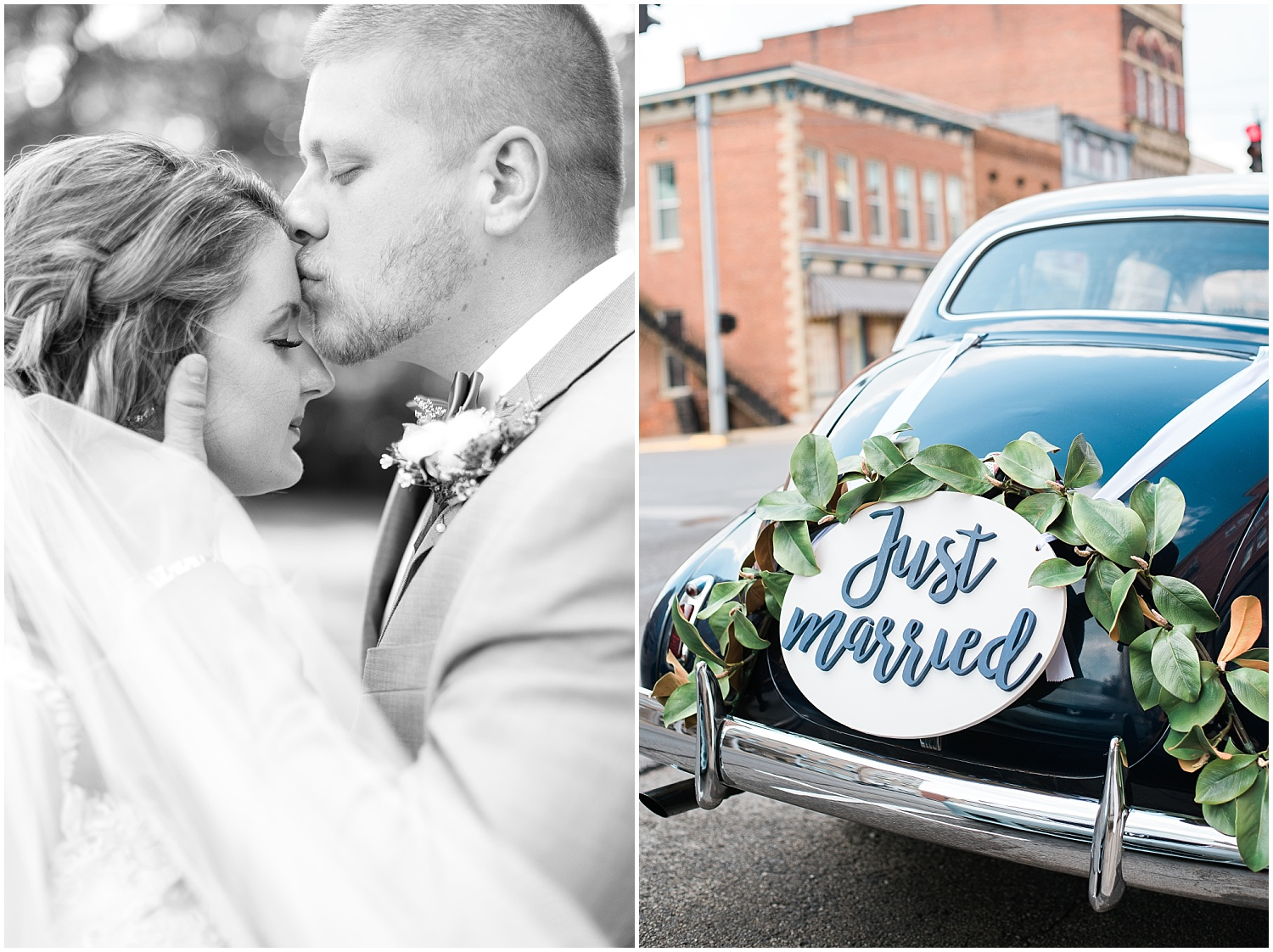 just-married-car-sign