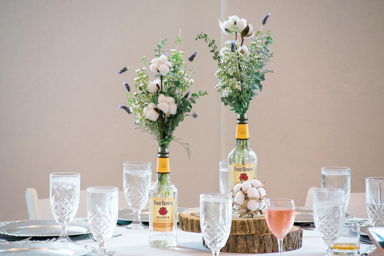 four-roses-bottles-centerpieces