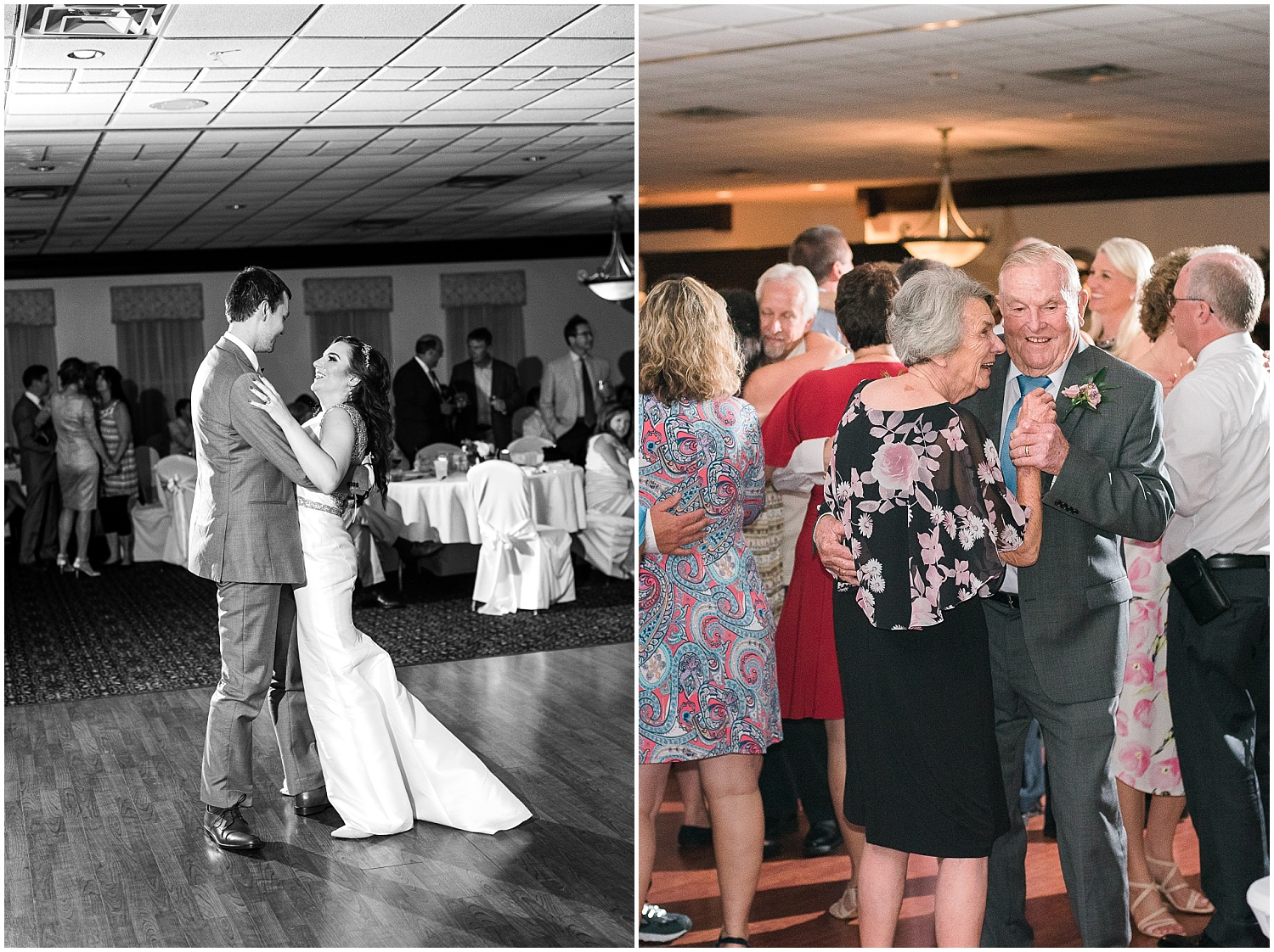 Aren't Jeremy's grandparents the cutest?!  They out-danced everyone in the anniversary dance!