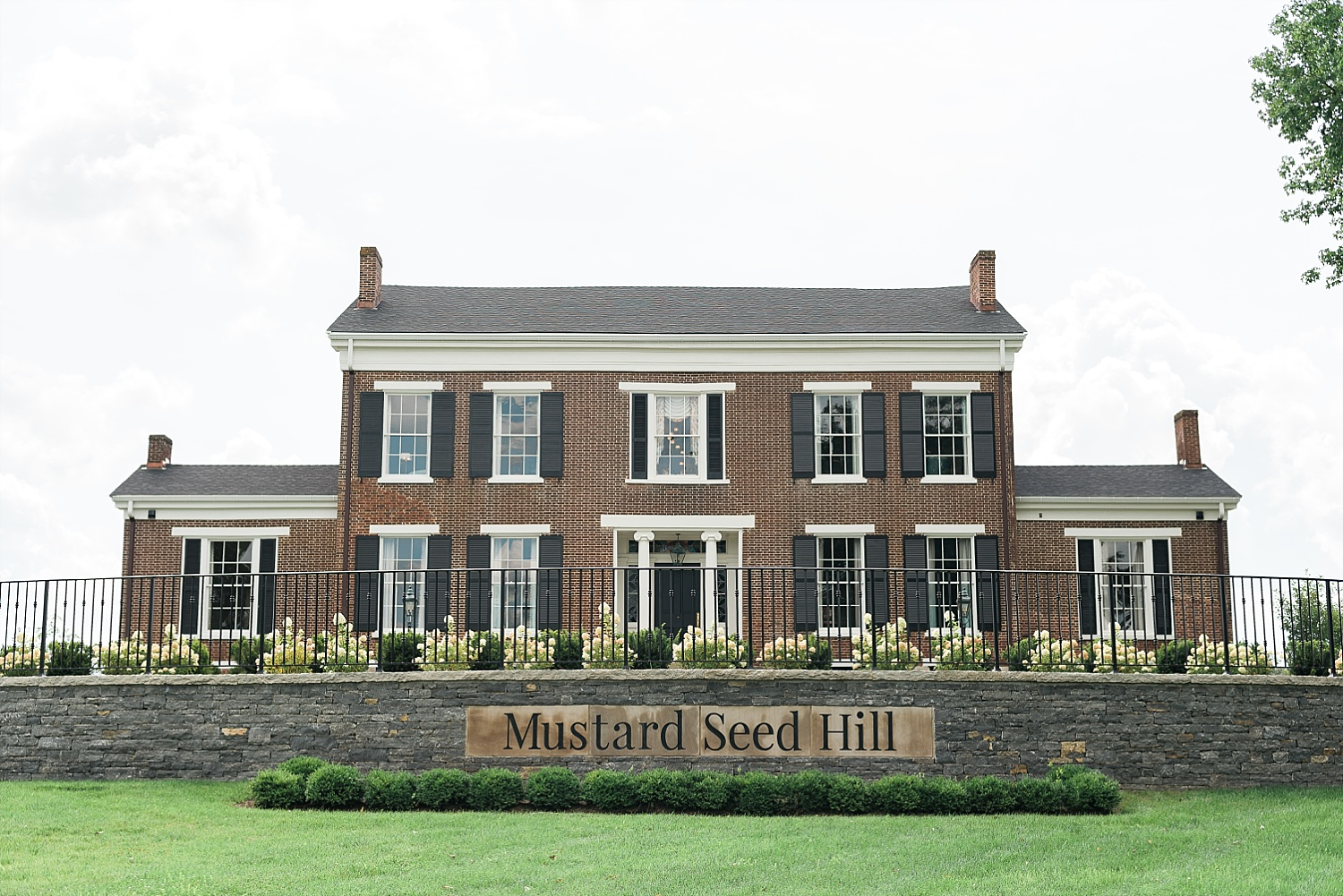 One of Kentucky's newest wedding venues, Mustard Seed Hill!