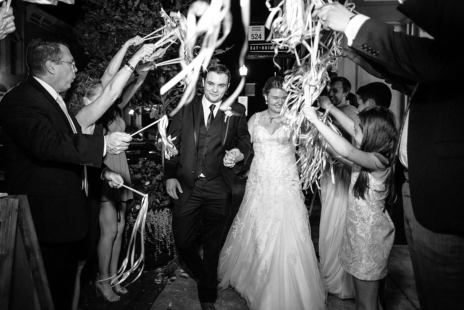 exit-with-streamers