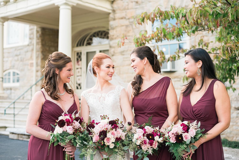 bridesmaids-burgundy-dresses