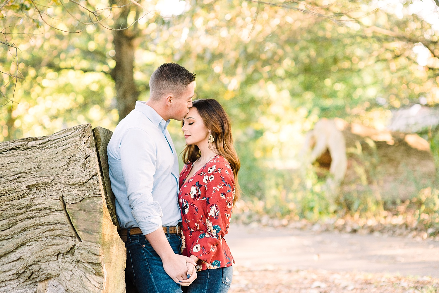 woods-engagement-session