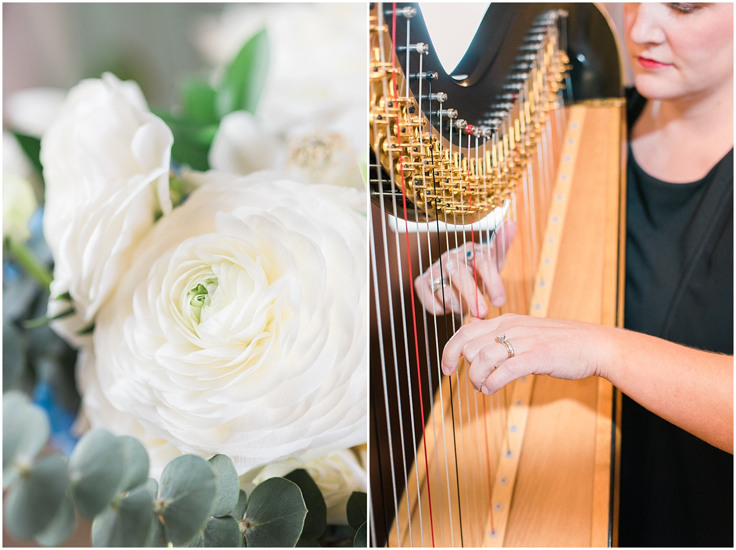 harpist-on-wedding-day