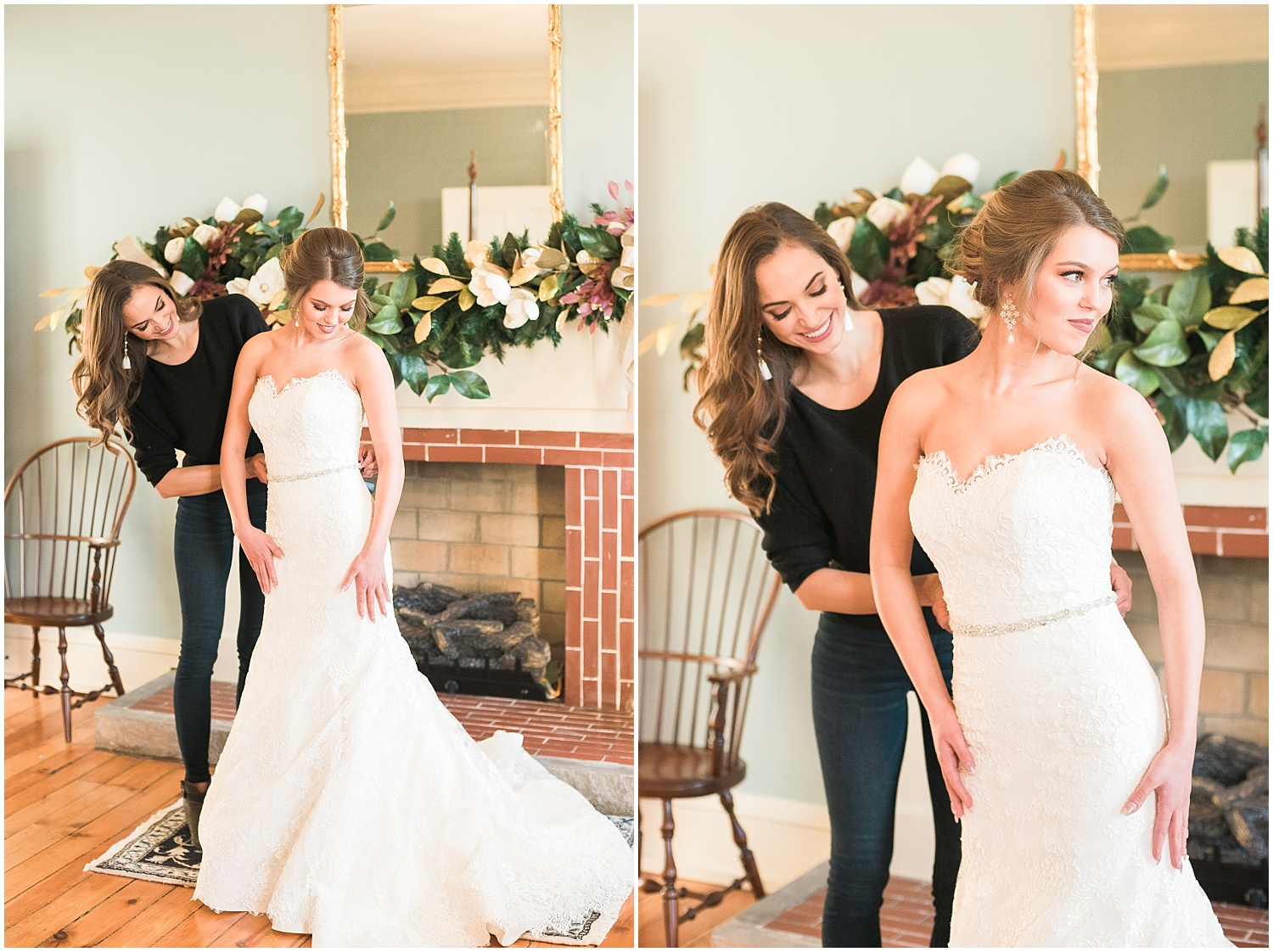 Maria will help you put together the bridal gown of your dreams!