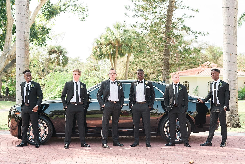 The newlyweds had a sharp getaway car…a 2018 Rolls Royce!