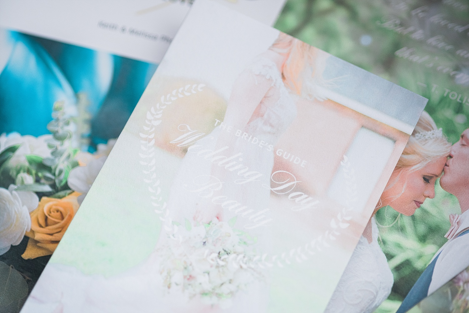 Each consultation client receives our welcome packet full of wedding day tips!