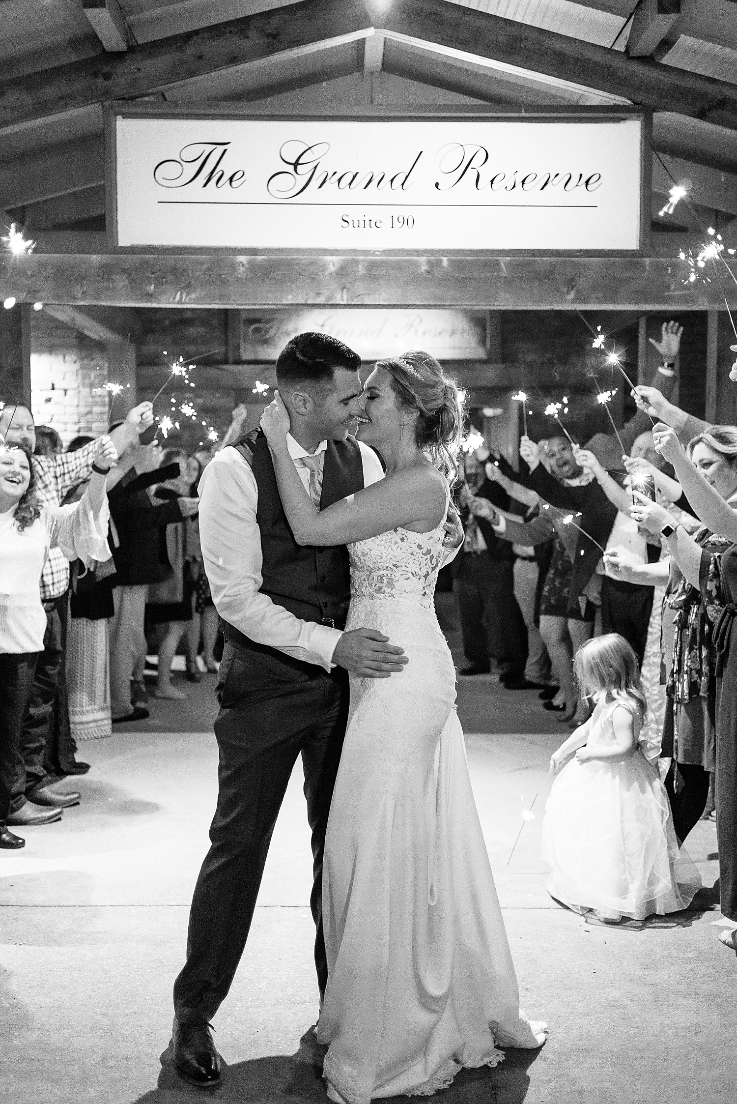 One of our favorite sparkler shots ever!