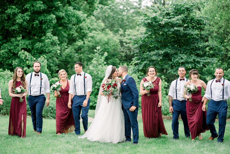 navy-wine-wedding-party