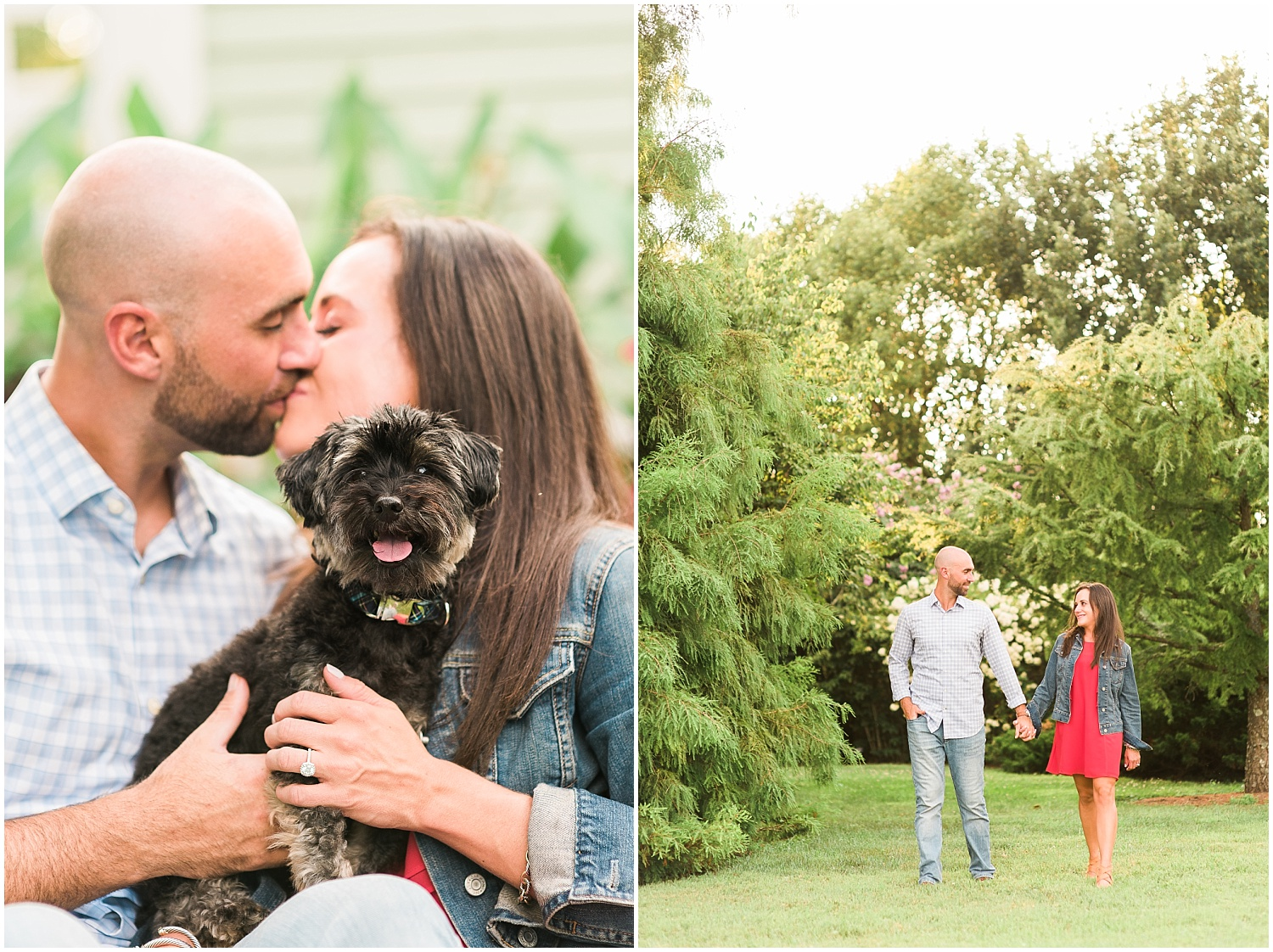 puppies-engagement-sessions