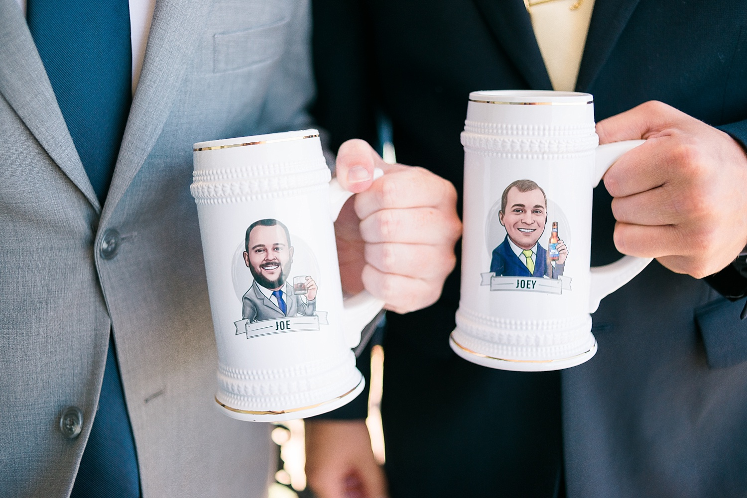 How cool are these groomsmen gifts?