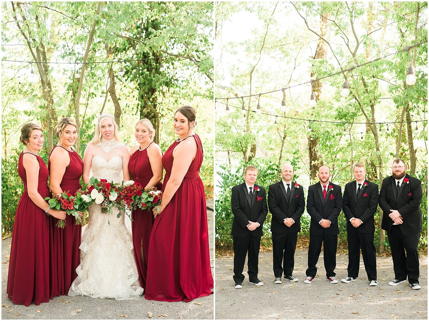 deep-red-bridesmaids-dresses