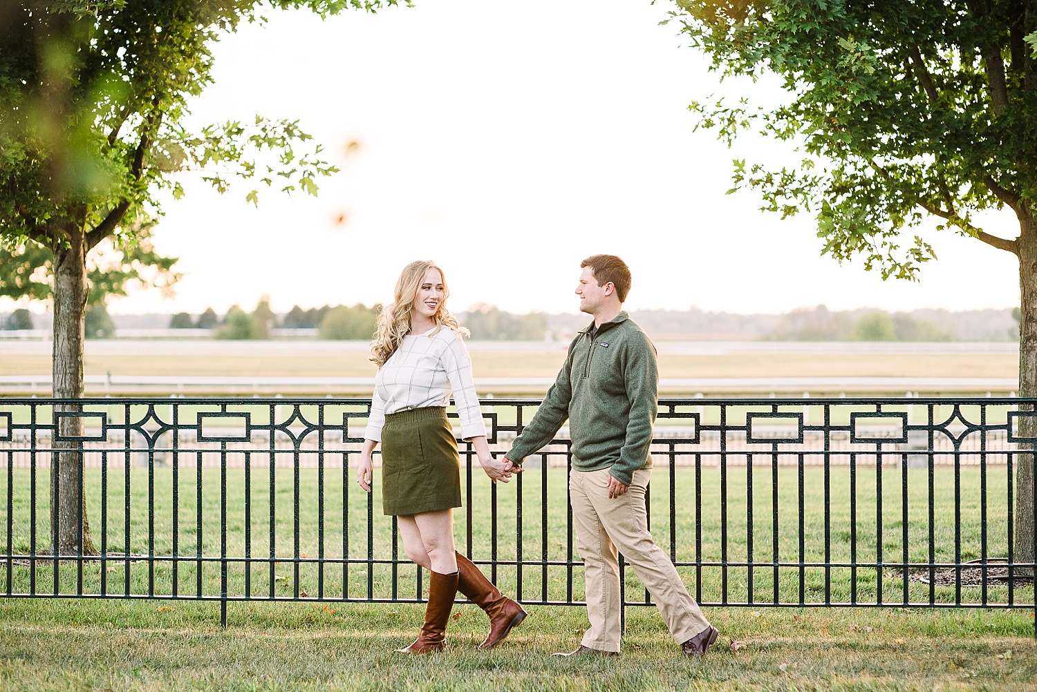 engagement-session-at-keeneland