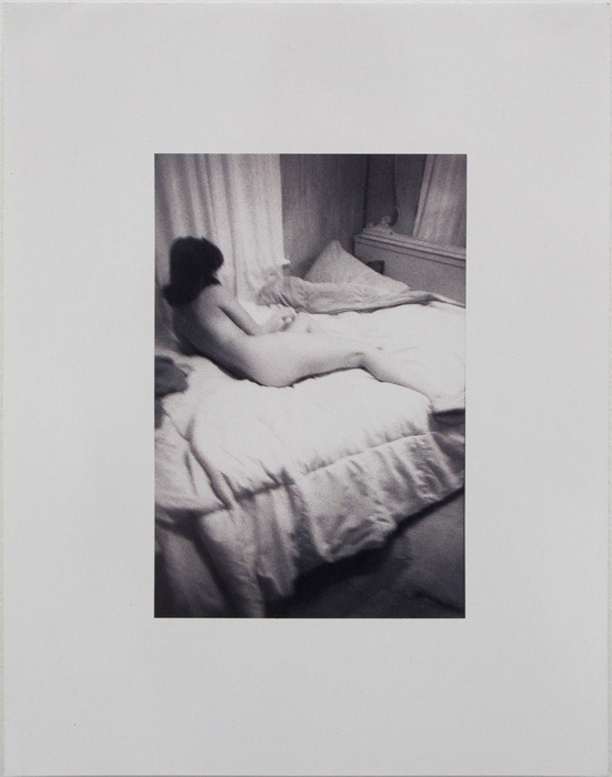 Ryan Foerster,  Hannah on Bed , 2011, C-print, 14 x 11 in