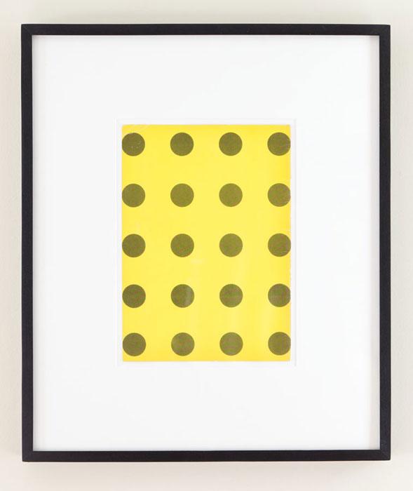 Matthew Higgs, Ultra Mundane , 2008, framed book cover,20 x 16.75 in