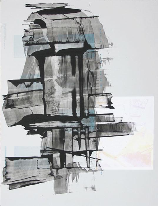 Ryan Foerster, Photo Book Printing Plate 3 , 2012, aluminum printing plate,35 x 23 in