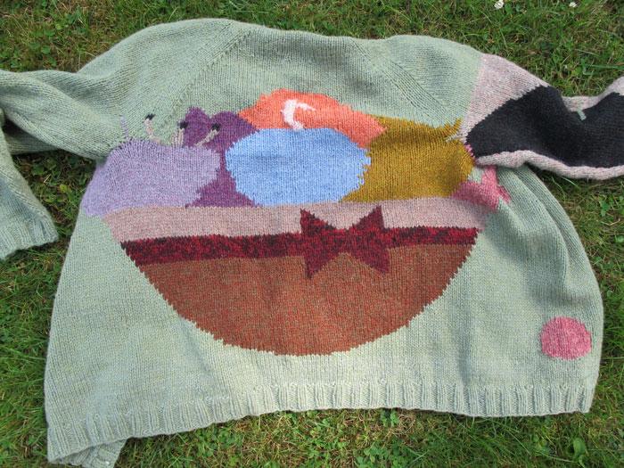 Johanna Jackson, Fruit Bowl , 2012, wool, dimensions variable