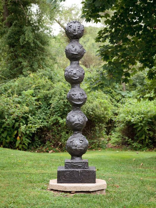Donald Baechler, Untitled , 2004, bronze,84 in,Edition 1/1