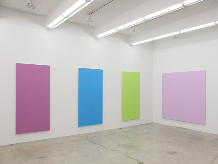 Installation view,  Long Suffering , Martos Gallery, New York, 2012